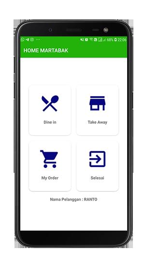 Jual Code Menu Utama Aplikasi Pemesanan Martabak Terintegrasi Ke Kasir(POS) Berbasis Android